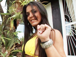 Mickely miranda. Pretty Brazilian Mickely Miranda Masturbating