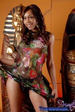 Sexxxy jade Sexxxy Jade nude in an Egyptian room.