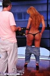 Carla abiazzi Appealing tranny Carla Abiazzi Showing Her anal.